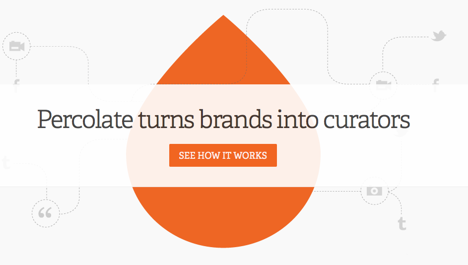 Percolate turns brands into curators